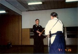 Lesson with Fujiwara Sensei